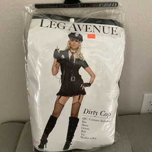 Dirty cop/police woman costume